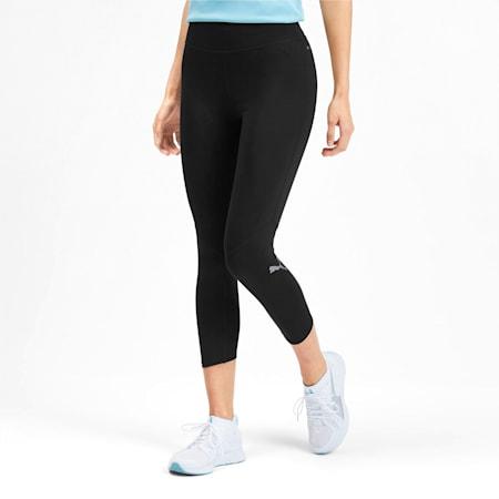 IGNITE 3/4 dryCELL Women's Running Tights, Puma Black-Puma Black, small-IND