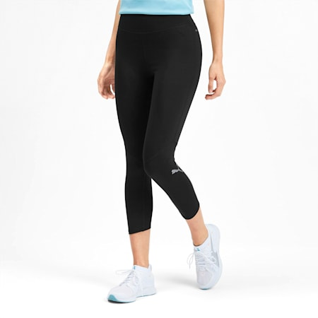 IGNITE 3/4 Women's Tights, Puma Black-Puma Black, small-SEA