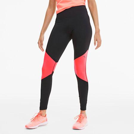 IGNITE Women's Running Tights, Puma Black-Ignite Pink, small