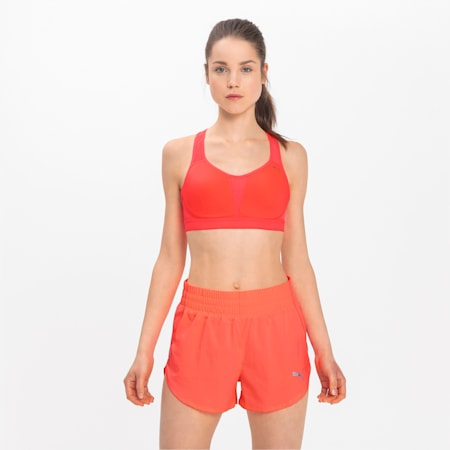 Get Fast Women's Training Bra, Ignite Pink, small-IND