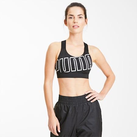 Soutien-gorge de sport Feel It pour femme, Puma Black-Puma White, small