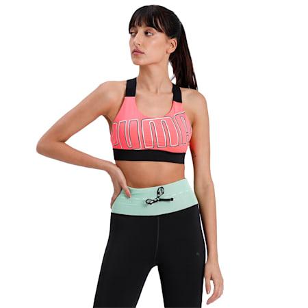 Feel It Women's Training Bra, Ignite Pink-BRIGHT ROSE, small-IND
