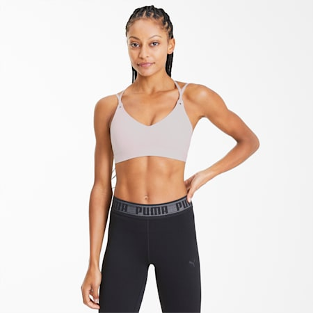 Strappy Studio Women's Crop Top, Rosewater, small
