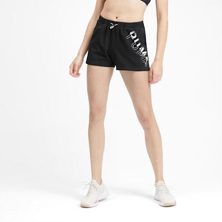 HIT Feel It Women's Shorts, Puma Black, small