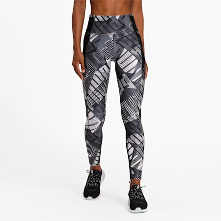 Be Bold 7/8 dryCELL Women's Training Leggings, PumaBlPumaWh-Be Bold Q1 Prt, small-IND