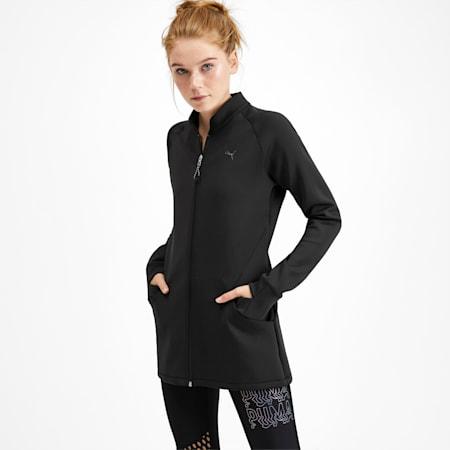 Studio Women's Knit Jacket, Puma Black, small