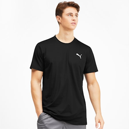 Reactive Tech Men's Tee, Puma Black, small-IND