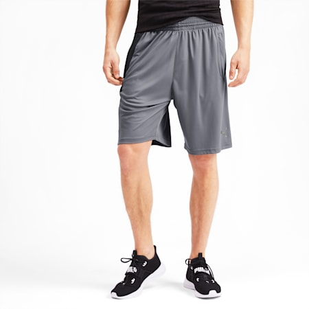 Collective Knitted Men's Training Shorts, CASTLEROCK-Puma Black, small-IND