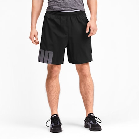 Collective Woven Men's dryCELL Training Shorts, Puma Black, small-IND