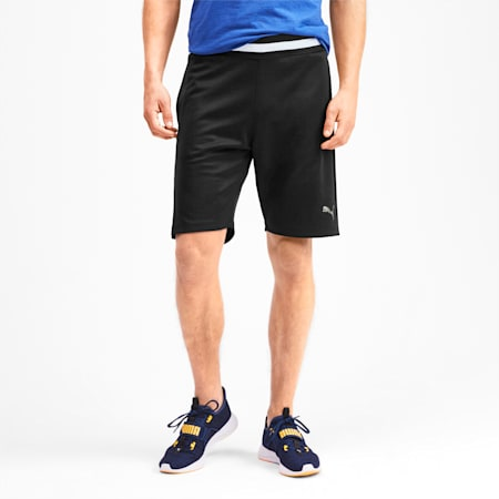 Collective Men's Sweat Shorts, Puma Black, small