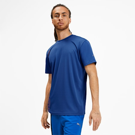 T-shirt Collective para homem, Galaxy Blue, small
