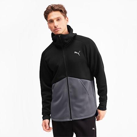 Power BND Men's Training Jacket, Puma Black-CASTLEROCK, small-GBR