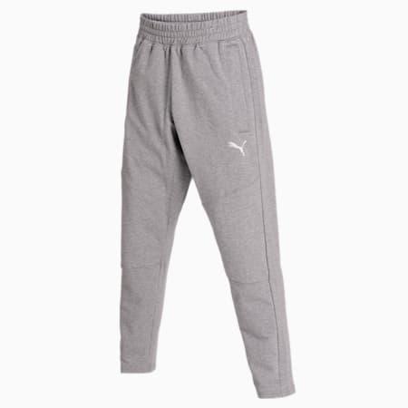 Reactive Trackster Flatlock Stitch Men's Training Pants, Medium Gray Heather, small-IND