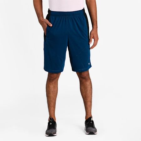 Reactive Drirelease dryCELL Men's Training Shorts, Gibraltar Sea-Puma Black, small-IND