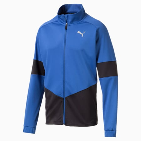 PUMA Blaster Men's Jacket, Galaxy Blue-Puma Black, small
