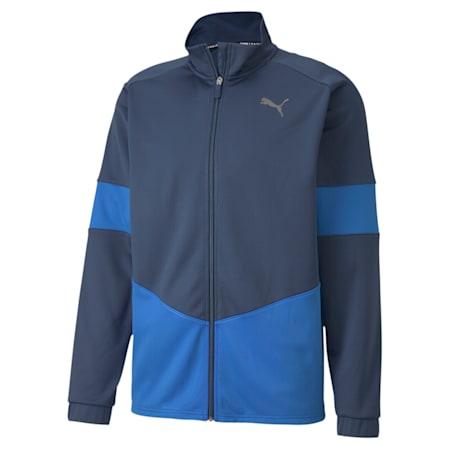 PUMA Blaster dryCELL Men's Jacket, Dark Denim-Palace Blue, small-IND