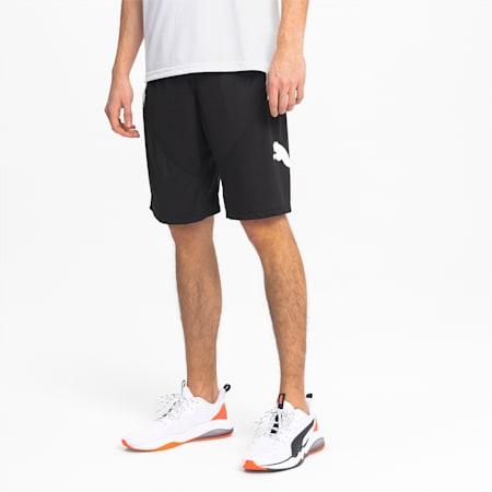 Shorts da allenamento da uomo Cat, Puma Black-Puma White, small