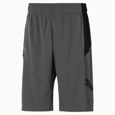 Cat Men's Training Shorts, CASTLEROCK-Puma Black, small
