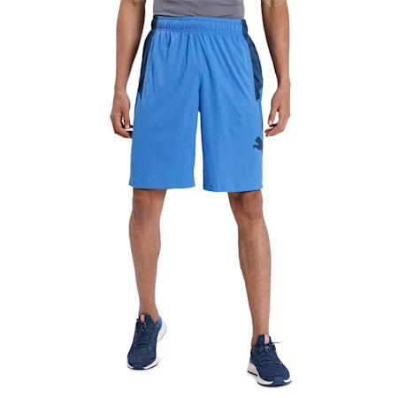 Cat dryCELL Men's Training Shorts, Palace Blue-Dark Denim, small-IND