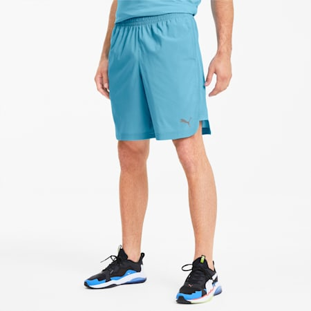 PUMA Men's Woven Shorts, Ethereal Blue, small