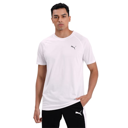 dryCELL Men's dryCELL Training T-Shirt, Puma White, small-IND