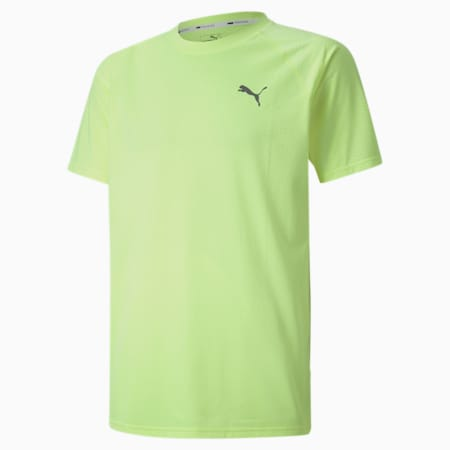 PUMA dryCELL Men's Training T-Shirt, Fizzy Yellow, small-IND