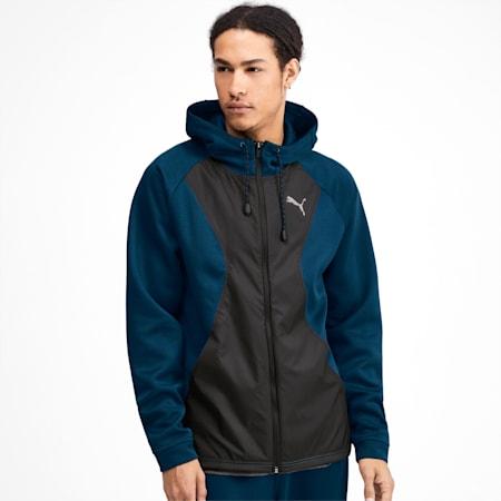 Collective Protect Men's Jacket, Gibraltar Sea-Puma Black, small