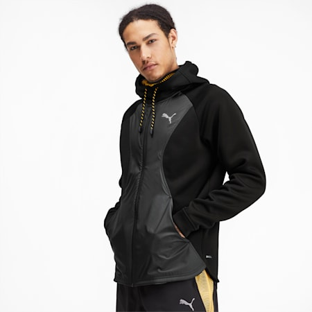 Collective Protect Men's Training Jacket, Puma Black, small-SEA