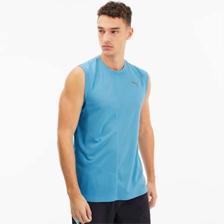 IGNITE Men's Singlet Tank, Ethereal Blue, small