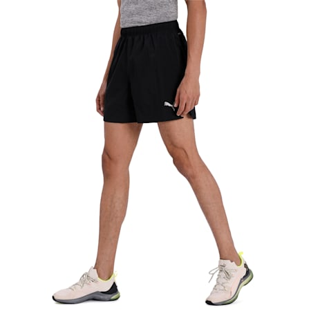 """IGNITE Woven 5"""" dryCELL Men's Running Shorts, Puma Black, small-IND"""