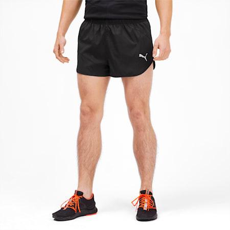 Ignite Men's Split Shorts, Puma Black, small