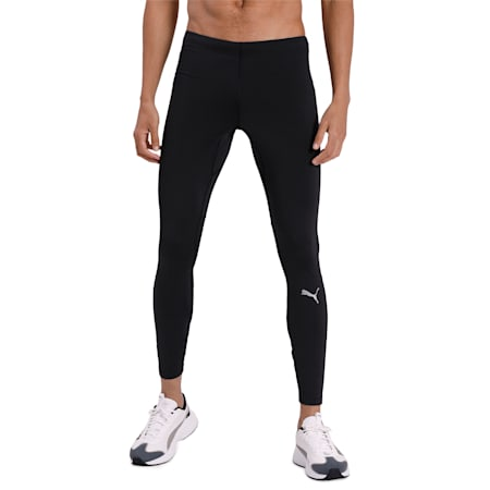 IGNITE dryCELL Long Men's Running Tights, Puma Black, small-IND