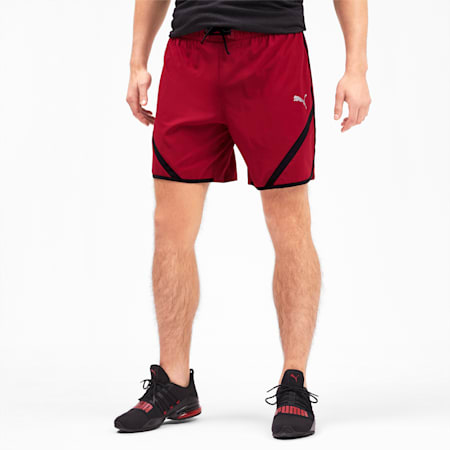 Get Fast Men's Shorts, Rhubarb-Puma Black, small