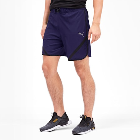 """Get Fast 7"""" Woven Men's Running Shorts, Peacoat-Puma Black, small-IND"""