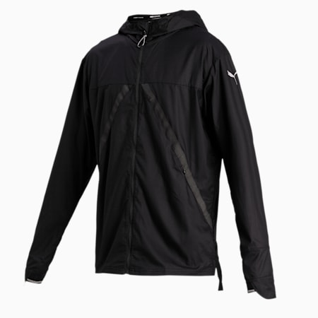Last Lap VIZ Men's Running Jacket, Puma Black, small-IND