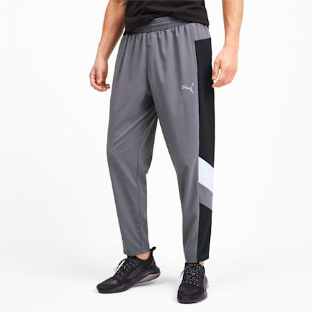 Reactive Men's Packable Pants, CASTLEROCK-Black-White, small