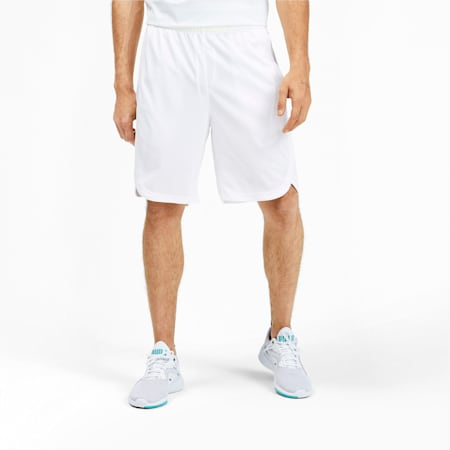 Reflective Vent Men's Shorts, Puma White, small-IND