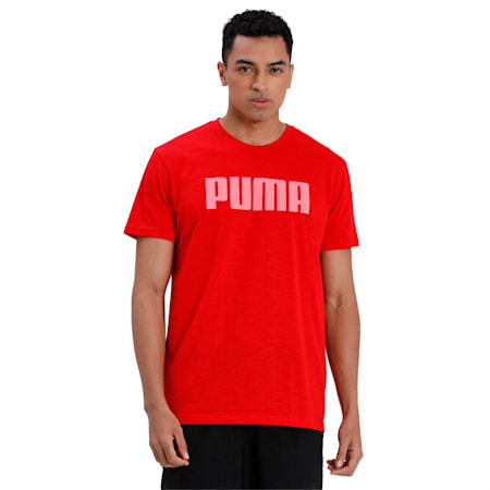 dryCELL Short Sleeve Men's T-Shirt, High Risk Red, small-IND