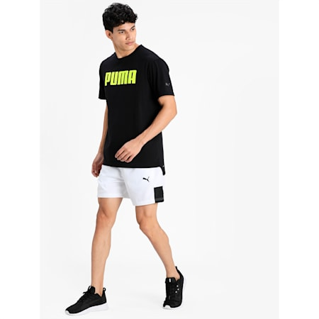 dryCELL Short Sleeve Men's T-Shirt, Puma Black, small-IND