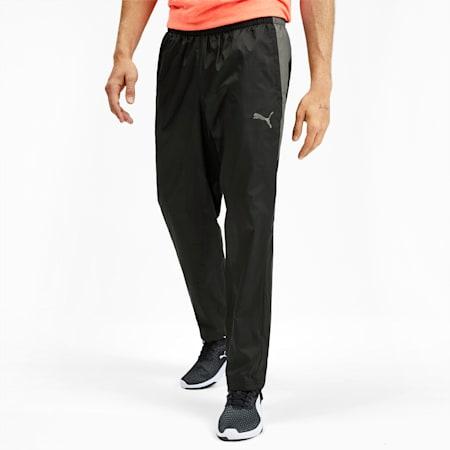 Reactive Men's Woven Pants, Puma Black-CASTLEROCK, small
