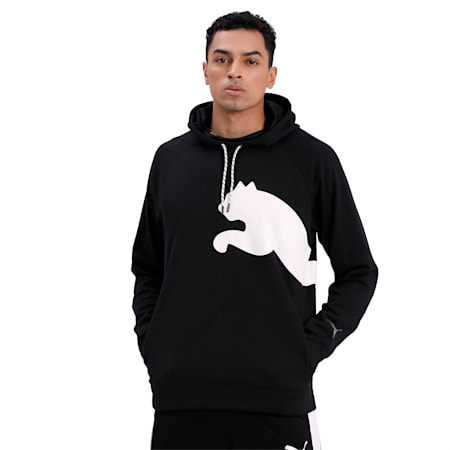Cat dryCELL Men's Training Hoodie, Puma Black, small-IND