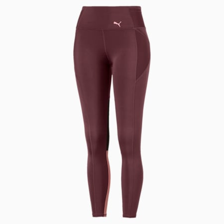 Feel It Women's 7/8 Leggings, Vineyard Wine, small