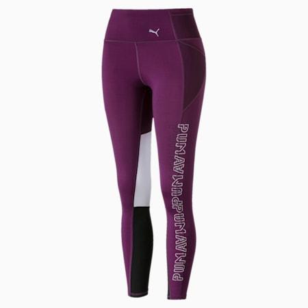 Feel It Women's 7/8 Leggings, Plum Purple, small