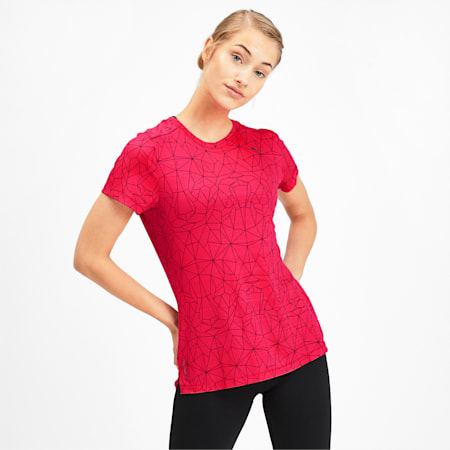 Last Lap Graphic Women's Running Tee, Puma Black-Nrgy Rose, small-IND