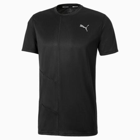IGNITE Short Sleeve Men's Running Tee, Puma Black, small