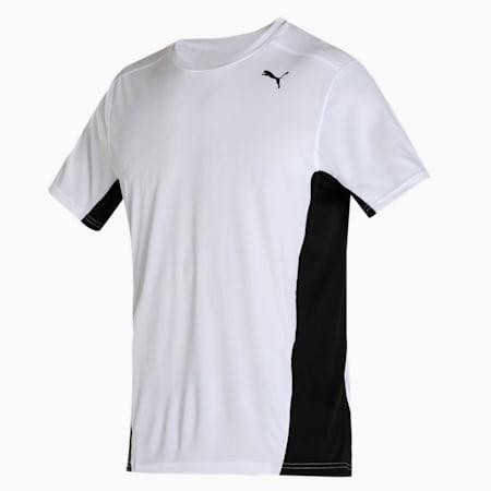 IGNITE dryCELL Short Sleeve Men's Running T-Shirt, Puma Black, small-IND