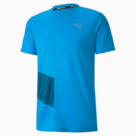 IGNITE dryCELL Short Sleeve Men's Running T-Shirt, Nrgy Blue-Digi-blue, small-IND