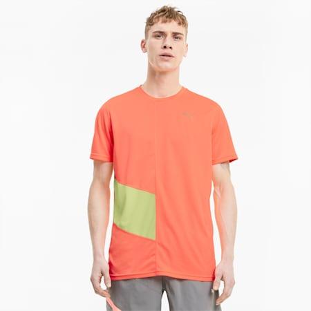 이그나이트 반팔 티셔츠/Ignite SS Tee, Nrgy Peach-Fizzy Yellow, small-KOR
