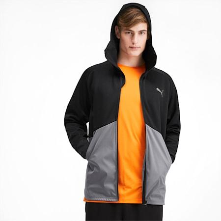 Power BND Protect Men's Jacket, Puma Black-CASTLEROCK, small