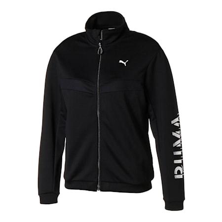 フィール イット ウィメンズ トレーニング ジャケット, Puma Black, small-JPN
